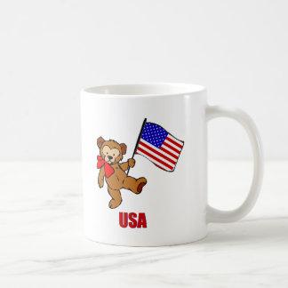 米国のテディー・ベア コーヒーマグカップ