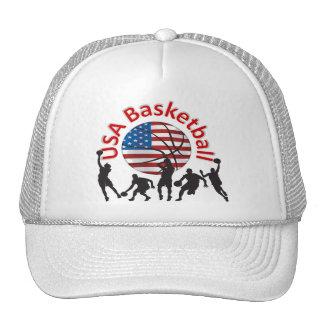米国のバスケットボール キャップ