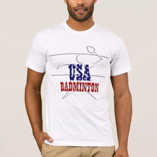米国のバドミントンはTシャツを遊ばします Tシャツ