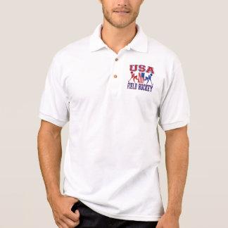 米国のフィールドホッケー ポロシャツ