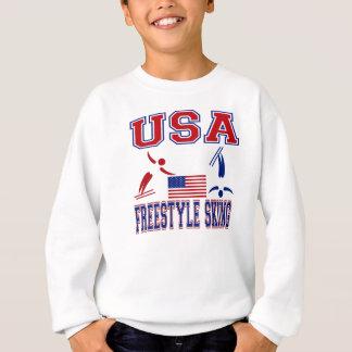 米国のフリースタイルのスキー スウェットシャツ
