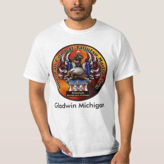 米国のフリースタイルの武道アカデミー Tシャツ