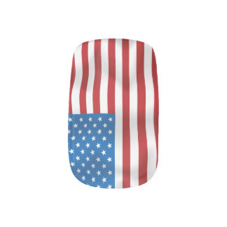 米国のベクトル旗 ネイルアート