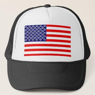 米国のリサイクルの旗の帽子 キャップ