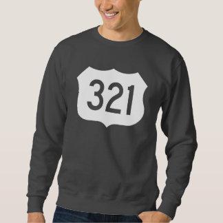 米国のルート321の印 スウェットシャツ