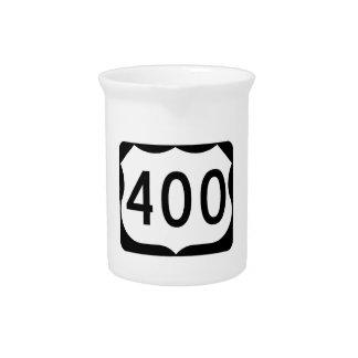 米国のルート400の印 ピッチャー