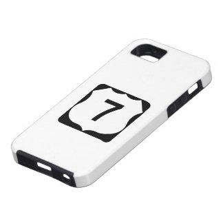 米国のルート7の印 iPhone SE/5/5s ケース