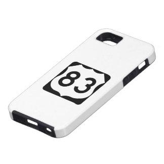 米国のルート83の印 iPhone SE/5/5s ケース