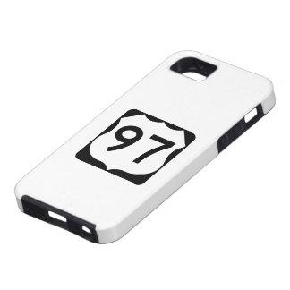 米国のルート97の印 iPhone SE/5/5s ケース