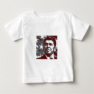 米国のロナルド・レーガン第40の大統領 ベビーTシャツ