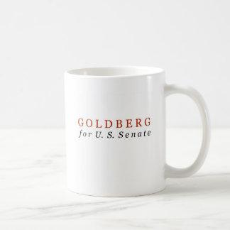 米国の上院のためのゴールドバーグ コーヒーマグカップ