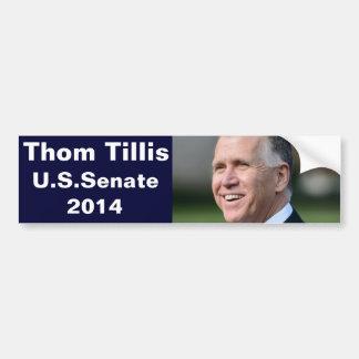 米国の上院のためのThom Tillis バンパーステッカー