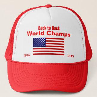 米国の世界Champs 1918年1945年 キャップ