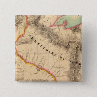 米国の中間の西41 5.1CM 正方形バッジ