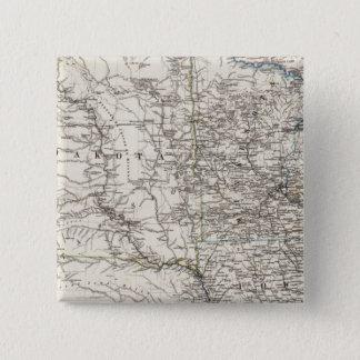 米国の中間の西 5.1CM 正方形バッジ