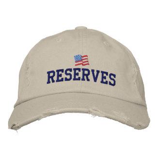 米国の予備は帽子を刺繍しました 刺繍入りキャップ
