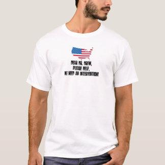 米国の介在 Tシャツ