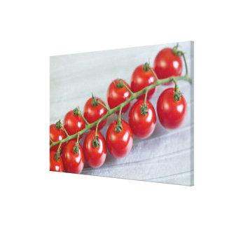米国の使用のためのつる植物のチェリートマト キャンバスプリント