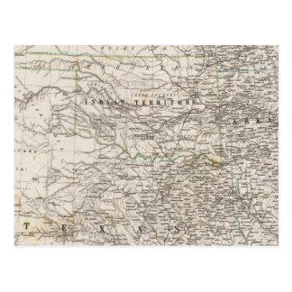 米国の南インドの領域 ポストカード