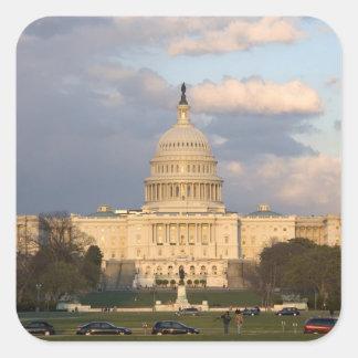 米国の国会議事堂の建物 スクエアシール