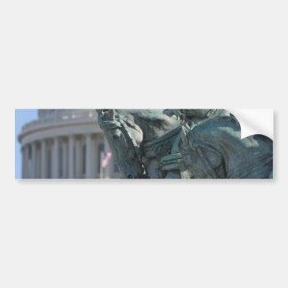 米国の国会議事堂の建物 バンパーステッカー