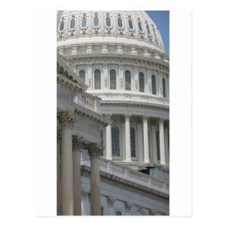 米国の国会議事堂の建物 ポストカード