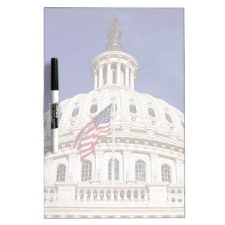 米国の国会議事堂の建物、Washington D.C. ホワイトボード