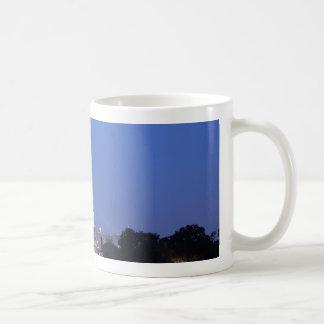 米国の国会議事堂夜写真 コーヒーマグカップ