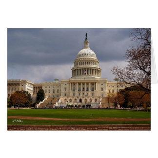 米国の国会議事堂 カード