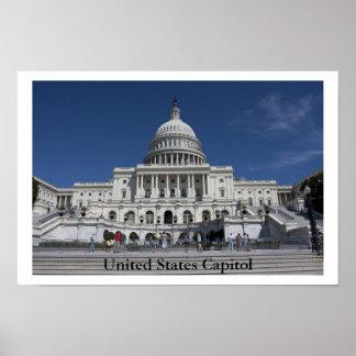 米国の国会議事堂 ポスター