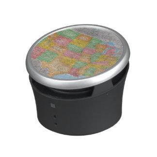 米国の地図3 ポータブルスピーカー