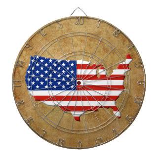 米国の地図 ダーツボード