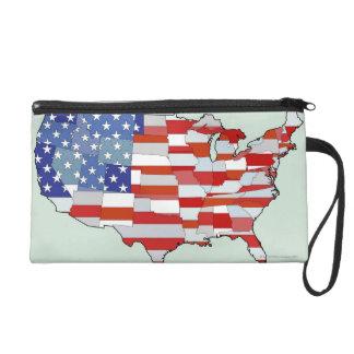 米国の地図 リストレット