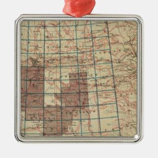 米国の地理的な調査 メタルオーナメント