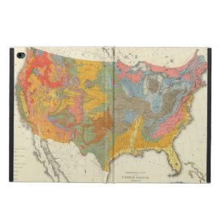 米国の地質地図 POWIS iPad AIR 2 ケース