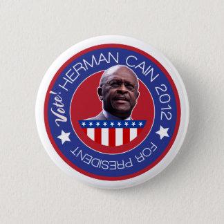 米国の大統領2012年のためのヘルマンカイン 5.7CM 丸型バッジ