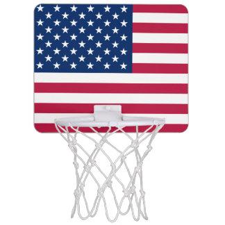 米国の小型バスケットボールのゴールの旗 ミニバスケットボールネット