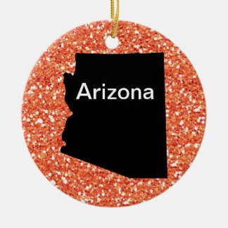米国の州アリゾナ- SRF セラミックオーナメント