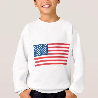 米国の役人の旗 スウェットシャツ