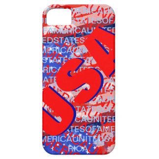 米国の愛国心が強い国旗 iPhone SE/5/5s ケース