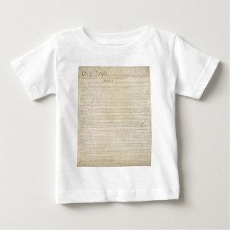 米国の憲法 ベビーTシャツ