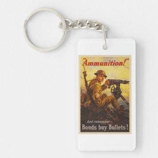 米国の戦時公債の弾薬WWIプロパガンダ キーホルダー