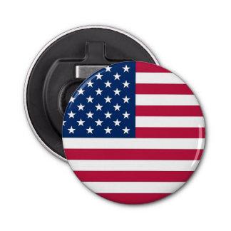 米国の旗が付いている愛国心が強く、特別な栓抜き 栓抜き