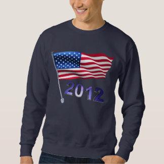 米国の旗との2012年 スウェットシャツ