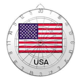 米国の旗のダート盤 ダーツボード