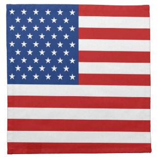 米国の旗のナプキン ナプキンクロス