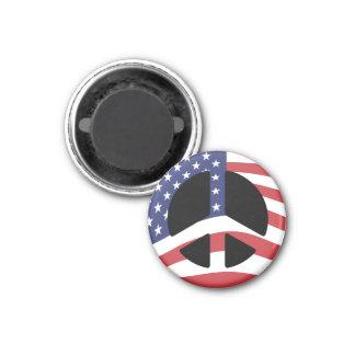 米国の旗のピースサインの磁石 マグネット
