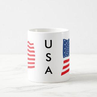 米国の旗のマグ コーヒーマグカップ
