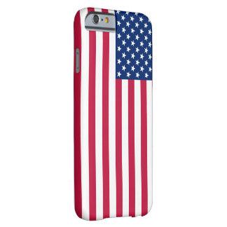 米国の旗の星条旗の愛国心が強いiPhone6ケース Barely There iPhone 6 ケース