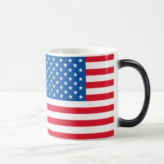 米国の旗の星条旗 マジックマグカップ